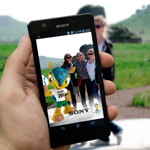 SONY XPERIA WORLD CUP AUGMENTED REALITY APP