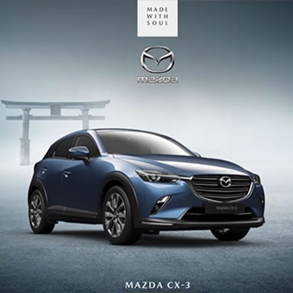 Mazda CX-3 – born from true obsession.